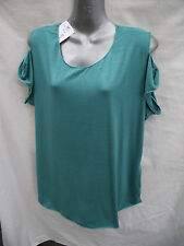BNWT Womens Sz 22 Undercoverwear Pretty Jade Stretch Sleeveless Tunic RRP $39