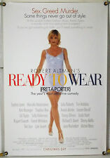READY TO WEAR PRET-A-PORTER ROLLED ORIG 1SH MOVIE POSTER ROBERT ALTMAN (1994)