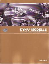 HARLEY-DAVIDSON Officina Manuale 2009 Dyna modelli FXD libro 99481-09dea NUOVO OVP
