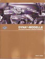 HARLEY Reparatur Handbuch 2009 Dyna Modelle 99481-09G