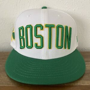 NWOT New Era Boston Celtics City Edition 2018 NBA 59Fifty Fitted Hat Size 7 1/4