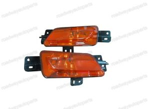 1Pair Rear Fog Light Bumper Reflector Lamps Red Lens for Peugeot 408 2013