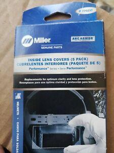 MILLER Genuine 770237 INSIDE LENS for PERFORMANCE SERIES - QTY5