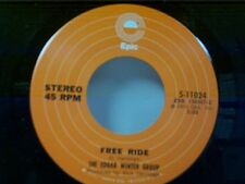"EDGAR WINTER GROUP ""FREE RIDE / WHEN IT COMES"" 45 MINT UNPLAYED"