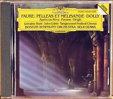 DGG DIGITAL Faure OZAWA Pelleas et Melisande (CD, 1987, W. Germany) 423 089-2