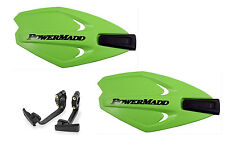 Powermadd Power X Series Handguards Guards Mount Kit GREEN All Sport ATV's