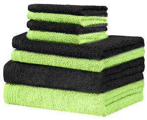 Weidemans® Premium 8 Pieces Towel Set 2 x Bath, 2 x Hand, 4 x Washcloth Towels