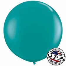 "3ft HUGE 36"" Jewel Teal QUALATEX Latex Balloon Party Decoration Birthday Wedding"