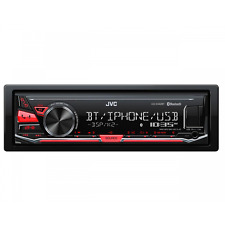 JVC KD-X342BT Autoradio mechaless , front USB 1A, Bluetooth, ingresso AUX,  comp