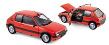 NOREV 1:18 AUTO DIE CAST  PEUGEOT 205 GTI 1.6  1988  ROSSO RED  ART 184853