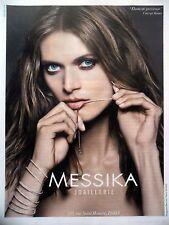 PUBLICITE-ADVERTISING :  MESSIKA Elasticité Précieuse,Skinny  2015 Malgosia Bela