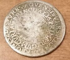 1752 GERMAN STATES AACHEN 16 Marck Coronation Silver Coin Extremely Rare
