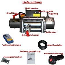 Elektrische Seilwinde Winde 5900Kg 12V 12 Volt Motorwinde Funk Fernbedienung