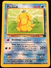Pokemon Psyduck 65/82 Team Rocket Common Card Mint