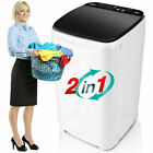Full-Automatic Washer 13.5Lbs Capacity 1.46 Cu.ft 2 in1 Compact 8 Water Level>US photo