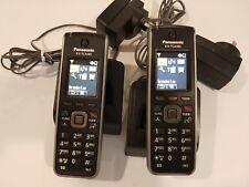 2x Panasonic KX-TCA185 DECT Telephones, 12 months wty, tax invoice