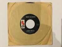"""Lenny Welch: rags To Riches / I Want To Worry (About Me) 7"""" Single Free UK Post"""