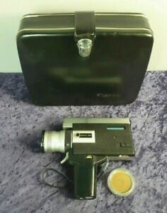 Canon Auto Zoom 518 Super 8 Camera with Case **Parts Only**