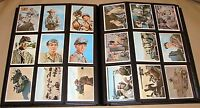 """THE RAT PATROL"" TRADING CARDS - COMPLETE SET - 66 CARDS - 1966 TOPPS"