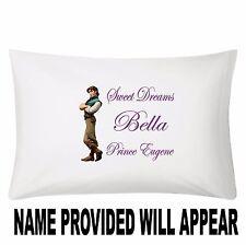Personalized Prince Eugene Tangled Pillowcase