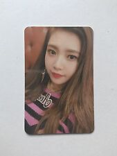 Joy Rookie Photo card [red velvet] photocard