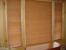 "Bali 1"" Northern Heights Wood Blinds Mini Blind Maple ""3 Piece Set"""