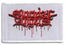 SUICIDAL ANGELS Patch BLOODY LOGO Aufnäher ♫ Thrash Metal ♪ from Greece ♫