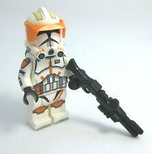 Lego COMMANDER CODY Minifigure -Helmet, Brickarms DC-15 -Custom Printed Body!
