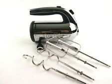 Dualit Professional Chrome Hand Mixer W/ Attachments 5 Speed HMR1US