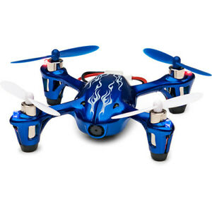 HUBSAN X4 H107C-HD Quadcopter with 720p Video Camera (Royal Blue)