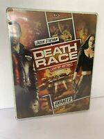 Death Race, Steelbook Limited Edition, Unrated, Blu-ray/DVD, New . steelbook