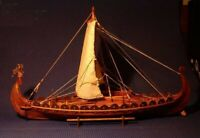 Classic Wooden Scale Sailing Boat 1/50 Viking Ships Scale Assembly Building Kit