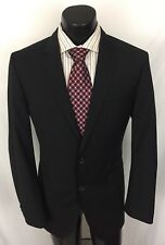 Hugo Boss Mens Sport Coat The Keys 11 Shaft 2 Suit Jacket Black 40 L A15