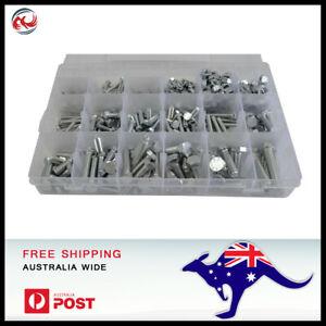 424 pc High Tensile Grade 8.8 Nut & Bolt Assortment Grab Kit M4 - M10