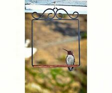 POP'S ORIGINAL HUMMINGBIRD SWING, Flat Black, FREE USA SHIPPING