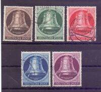 Berlin 1951 - Glocke Links - MiNr. 75/79 rund gestempelt - Michel 200,00 € (456)