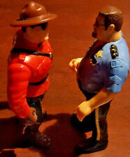 WWE WWF Hasbro Big Boss Man series 1 and The Mountie series 5 + Cards no reserve