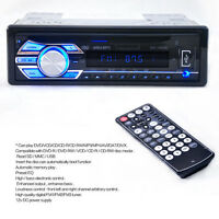 Vehicle Car In-Dash Radio Stereo CD DVD MP3 Player Head Unit USB SD AUX-IN FM