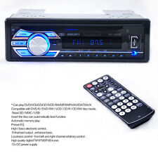 Auto Car 1-DIN Radio Stereo Head Unit CD DVD Player MP3 USB SD AUX-IN FM In-Dash