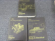 1974 Ford Bronco & Econoline E100 E200 E300 Shop Service Repair Manual