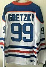 NWT Wayne Gretzky Edmonton Oilers Throwback Away Jersey CCM Size Medium (48)
