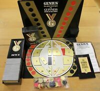 GENIUS THE GUINNESS BOOK OF RECORDS BOARD GAME - 1988