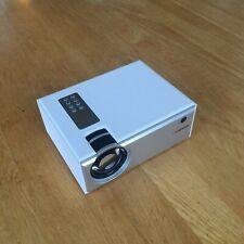 Mini Home Projector 720p HD White New