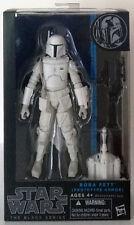 "BOBA FETT PROTOTYPE white Star Wars Black Series 6"" inch walgreens exclusive"