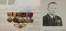 WW1 WW2 Canadian Medal grouping Royal Air Force Naval Air Service RCN RAF RCAF !