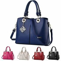 Fashion Women PU Leather Handbag Lady Shoulder Bag Tote Messenger Satchel Purse