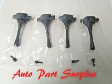 Genuine Nissan OEM 2009-2014 Cube 1.8L ignition coil set X4, 22448-1KT1A