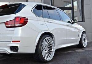 22 Zoll Mega Concave Design für BMW X5 E70 F15 X6 E71 F16 *NEU* LK5x120 Silber