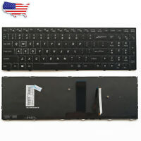 New Color Backlit keyboard for Clevo N855HJ1 N857HJ1 N870HJ1 N850HP6 N870HP6 US