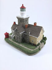"""13Harbour Lights Lighthouse #414 """"30 Mile Point"""" (Ny) Nib Collectible with Coa"""